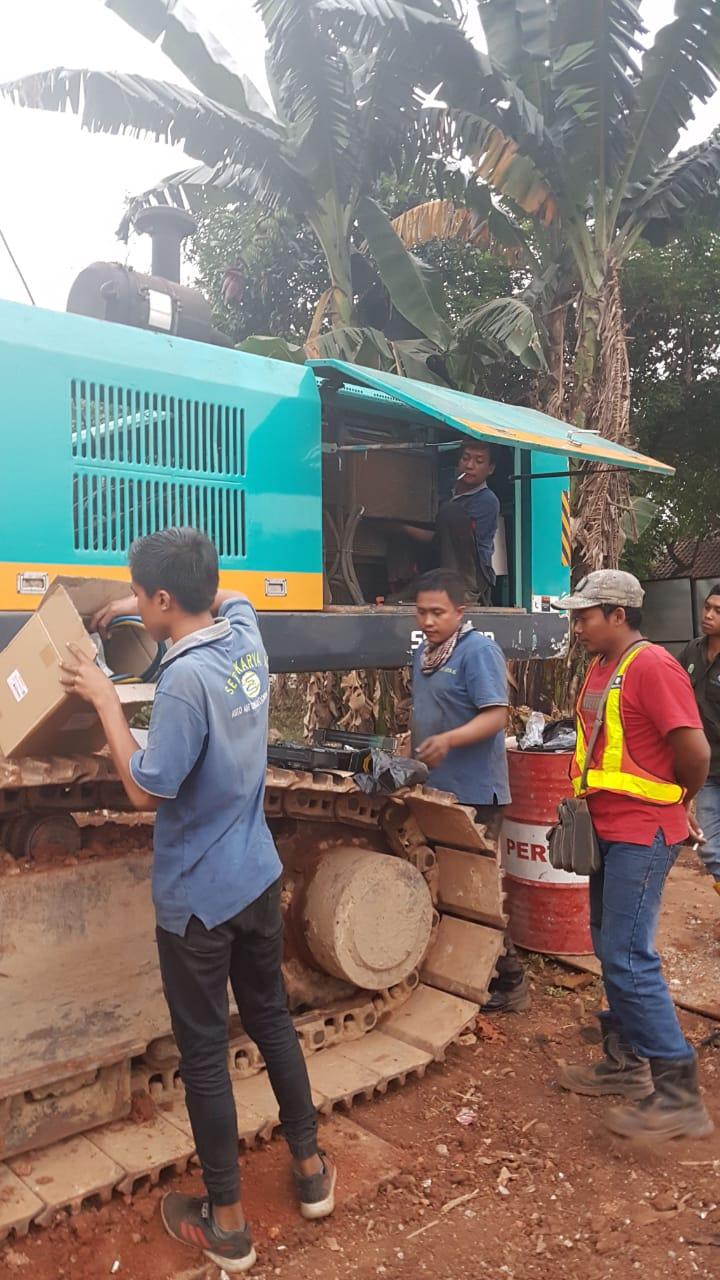 service ac alat berat mesin bor tanah