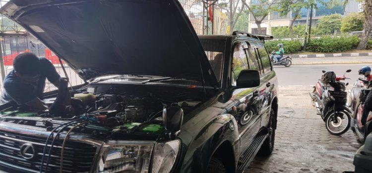Perbaikan ac mobil Land Cruiser Cygnus