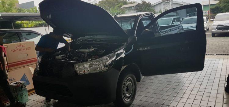 Pemasangan ac Hilux New Diesel