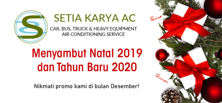 Service AC Mobil Desember 2019