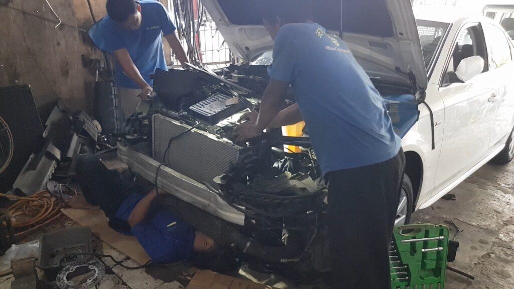 Bengkel AC Mobil Audi Jakarta Barat Setia Karya AC