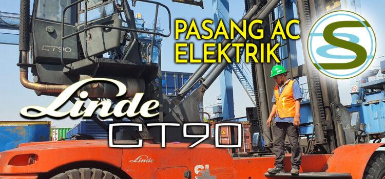 Pasang AC Elektrik Linde CT90 Alat berat Container Handler